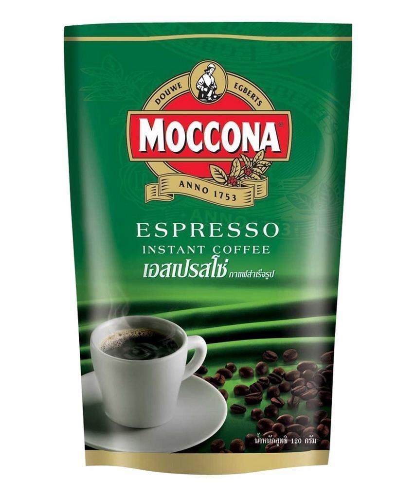 6 X 120 GRAMS OF MOCCONA ESPRESSO FREEZE DRIED INSTANT COFFEE