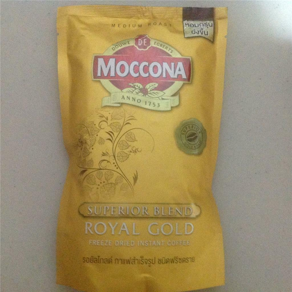 6 X 120 GRAMS OF MOCCONA SUPERIOR ROYAL GOLD FREEZE DRIED INSTANT COFFEE