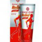 12 X 60g Tube - Siang Pure Relief Cream - Muscle Aches Knee Pain And Sports Injuries