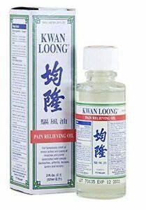 NEW 4 X 57ml Of  Kwan Loong Medicated Oil Fast Pain Relief Arthritis Muscle Rub First Aid