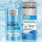 1 X 50ml Loreal Men Expert Hydra Power Polar Brightening Cream Dark Spots Dull
