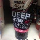 100 Grams Of Biore Men's Facial Foam Double Scrub Black And White Deep Clean For Black-Heads
