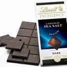 100 grams of Lindt excellence a touch of sea salt chocolate