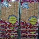 12 X 6 GRAMS OF  BENTO SEAFOOD SNACK SEASONED SQUID RED SWEET & SPICY THAI DELICIOUS