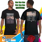 2018 LIVE THIRD DAY FAREWELL TOUR BLACK TEE W DATE CODE LMN01