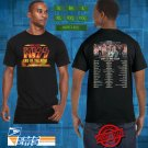 2019 LIVE KISS END PF THE ROAD END TOUR BLACK TEE W DATE CODE LMN03