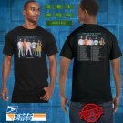 2018 LIVE YOUNG THE GIANT MIRROR MASTER TOUR BLACK TEE W DATE CODE LMN01