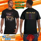 2019 LIVE THREE DOG NIGHT UNITED STATES TOUR BLACK TEE W DATE CODE LMN02