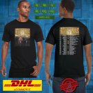 2019 LIVE MARY J. BLIGE AND NAS TOGETHER TOUR BLACK TEE W DATE CODE LMN01