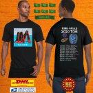 2020 LIVE KING KRULE NORTH AMERICAN FALL TOUR BLACK TEE W DATE CODE LMN01