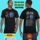 2020 LIVE KING KRULE NORTH AMERICAN FALL TOUR BLACK TEE W DATE CODE LMN02