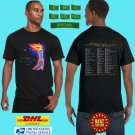 2020 LIVE TOOL BAND ADDED NEW DATES TOUR BLACK TEE SHIRT W DATE CODE LMN01