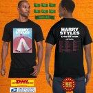 2021 LIVE HARRY STYLES LOVE ON TOUR WORLD TOUR BLACK TEE SHIRT W DATE CODE LMN02