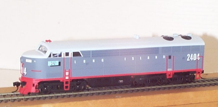 Tichy LIRR 5 axle Fairbanks Morse C-Liner BODY ONLY