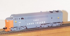 LIRR 5 axle Fairbanks Morse C-Liner BODY ONLY