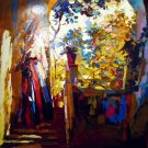<strong>AFTERNOON IN PROCIDA</strong> by Nicola Simbari <br>(Serigraph - Acrylic on Paper)