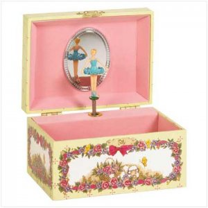 #27266 Musical Jewelry Box