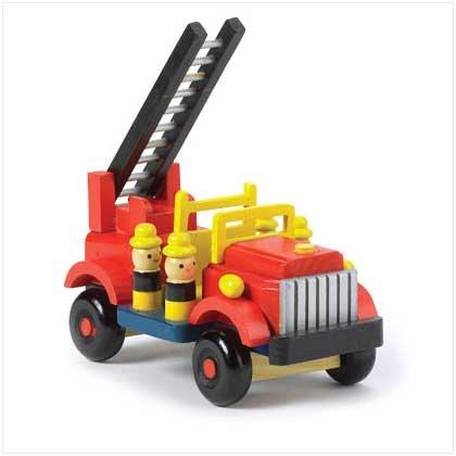 #38083 Wooden Fire Engine