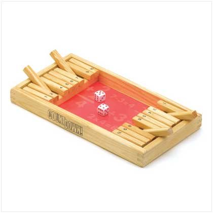 #38084 Wooden Countdown Game