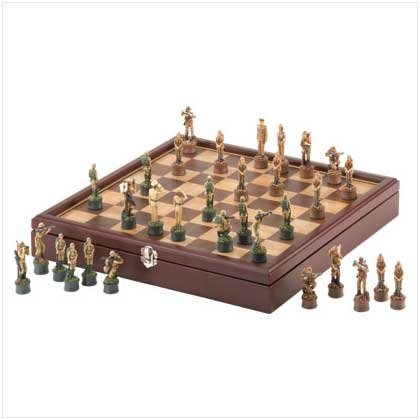 #37130 Army Chess Set