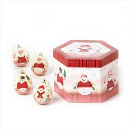 #37653 Snowman Ball Ornaments