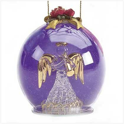 """#28209 Glass Ornament """"Angel"""""""