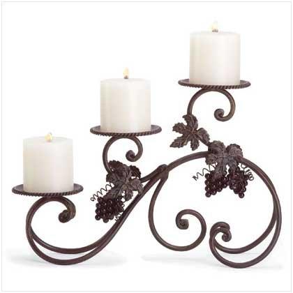 #34272 Grapevine Tabletop Candleholder