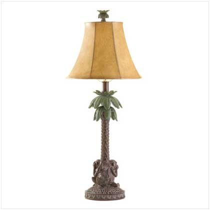 #36001 Palm Tree Lamp