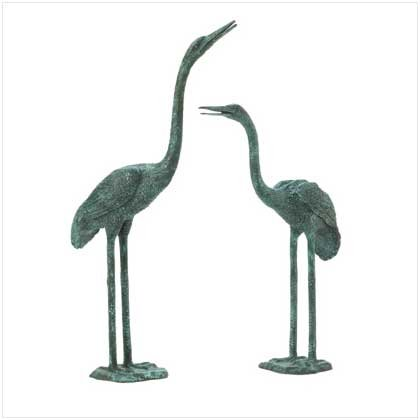 #37513 Pair of Aluminum Cranes