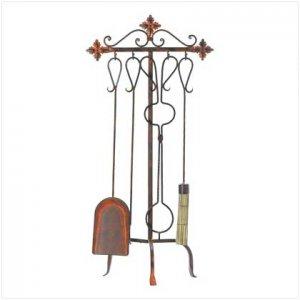 #38232 Tuscan Fireplace Tool Set