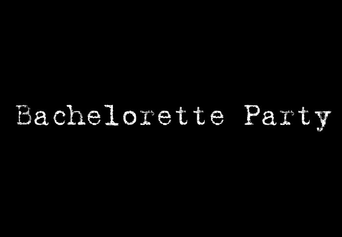 Bachelorette Party - Style 1