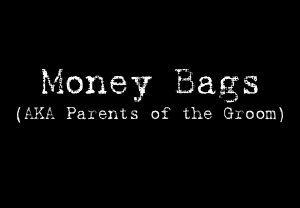 Money Bags (Parents of the Groom) - Style 1
