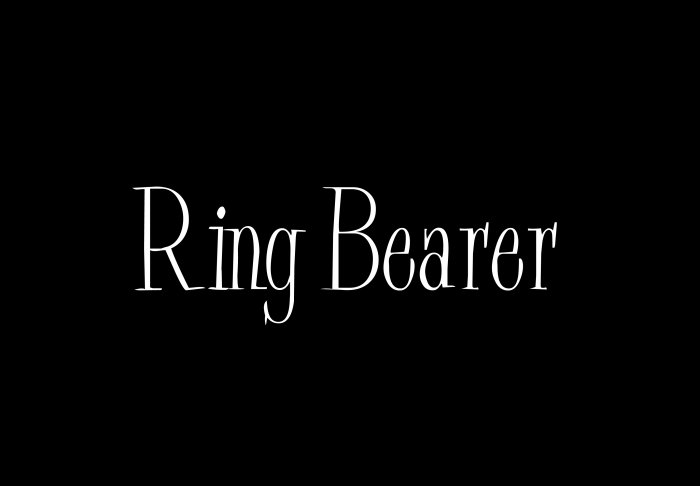 Ring Bearer - Style 2
