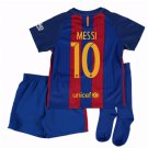 2016-17 Barcelona Home Little Boys soccer Jersey  (size: XLARGE)