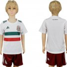 CUSTOM Mexico Away Youth Kids Set Jersey World Cup 2018