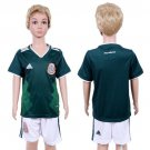 Youth Kids CUSTOM Mexico Home Set Jersey World Cup 2018