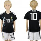 Messi #10 Argentina Away Youth Kids Set Jersey World Cup 2018