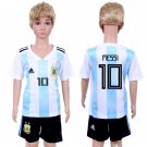 MESSI #10 Jersey World Cup 2018 Argentina Home Set Youth Kids