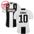 Dybala #10 Juventus Men 2018/2019 Home Football Soccer Jersey Shirt White/black