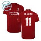 M.SALAH Liverpool Jersey 18/19 Men Home Football Soccer Shirt Red