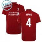 VIRGIL #4 Liverpool Jersey 2018/19 Men Home Football Soccer Shirt Red