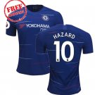 Hazard #10 Chelsea Men Football Home Soccer 2018/19 Jersey Shirt Blue