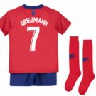 Atletico Madrid Griezmann #7 kids  2018-2019 Home kids Mini  socks, shorts