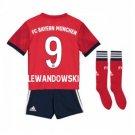 Lewandowski #9 Kids Soccer Full Kit 2018-2019 Bayern Munich home Jersey