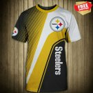 New Pittsburgh Steelers  -Football-T-Shirt-Athletic-Team