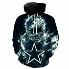 DALLAS COWBOYS Hoodie NFL Football Hooded Pullover Unisex S-5XL