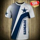 New Dallas Cowboys -Football-T-Shirt-Athletic-Team
