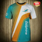New Miami Dolphins   Football T Shirt Athletic Team