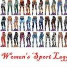 NFL Football Women's Sports Fitness Leggings Teams