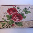 Red Roses Tapestry Placemat 13 x 19 Rectangle 60% Cotton 40%Polyester NWNT